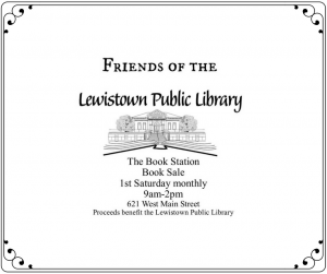 Friends of the Library Book Sale @ The Book Station | Lewistown | Montana | United States