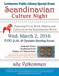 Scandinavian Night wednesday