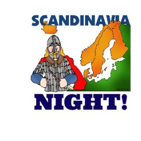 Join us for Scandinavian Night! March 3, 2016