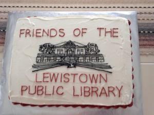 friends cake logo