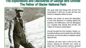 """Father of Glacier Park"" to Speak Thursday, Sept. 1@ 6 p.m."