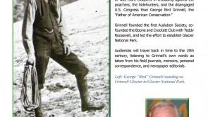 Father of Glacier Park to Speak Next Thursday, Sept. 1.