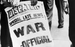 WAR DECLARED A HOT TOPIC BY PUBLISHERS by the Stereotypical Librarian