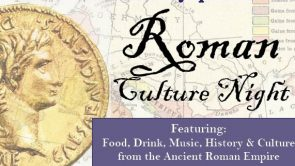 Roman Culture Night – March 15