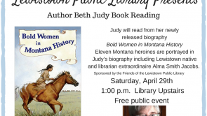Beth Judy Book Reading Coming Up! April 29