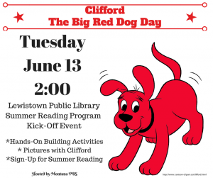 Clifford The Big Red Dog Day!