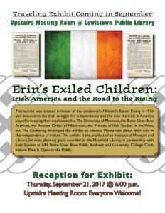 Erin's Exiled Children Exhibit @ Lewistown Public Library | Lewistown | Montana | United States