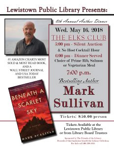 Author Dinner @ The Elk's Club