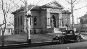 The Lewistown Public Library by Nancy Watts