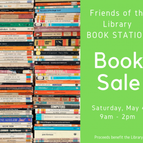 Book Sale @ The Book Station – May 4