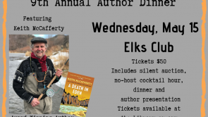 Annual Author Dinner Featuring Keith McCafferty