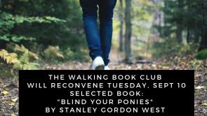 Library Walking Book Club Walks Again by Kari Denison