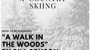 Library Book Club goes X-country skiing by Dani Buehler