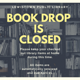 Book drop currently closed