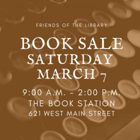 Book Sale Saturday!