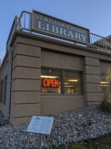 LIBRARY BUILDING REOPENS