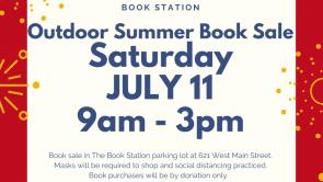Outdoor Summer Book Sale