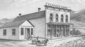 Francis Janeaux, Founder of Lewistown by Nancy Watts