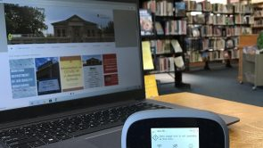 Borrow the Internet!  by Library Director Dani Buehler