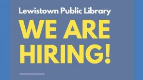 Now Hiring! Seasonal Library Assistant