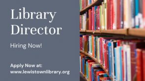 Now Hiring Library Director