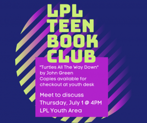 Teen Time & Book Club