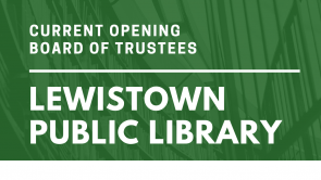 Current Opening on Library Board of Trustees