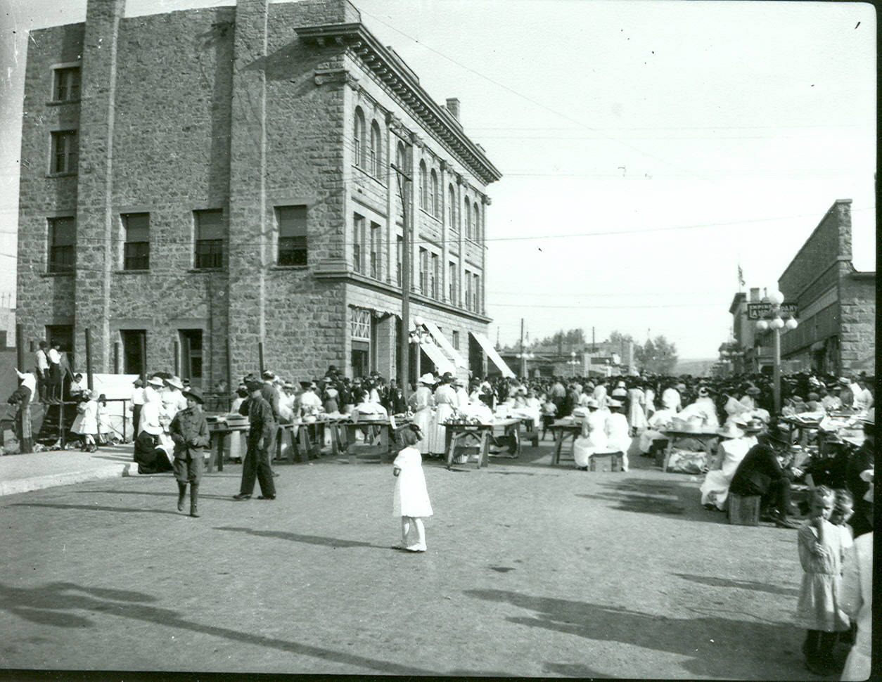 1930s Street Scene, Lewistown, Montana