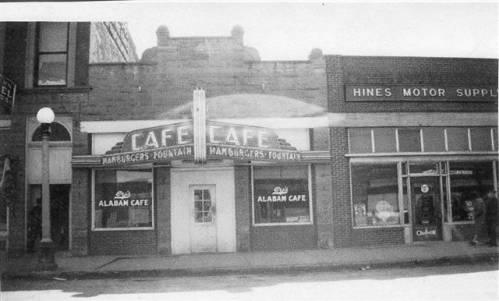 Alabam's Cafe, Lewistown, Montana