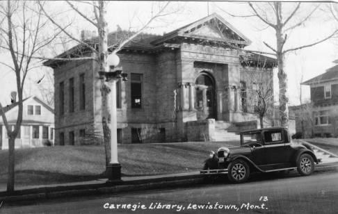 Carnegie Public Library, Lewistown, Montana